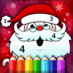 Christmas Coloring Book By Numbers APK MOD 2.4