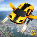 Flying Robot Car Games – Robot Shooting Games 2020 APK MOD 2.1
