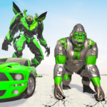 Gorilla Robot Car Game – Transform War Robot Games APK MOD 2.0