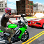 Highway Death Moto- New Bike Attack Race Game 3D APK MOD 1.0.2
