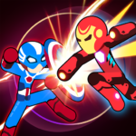 Stickman Superhero – Super Stick Heroes Fight APK MOD 0.2.3