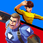 Superhero Captain X vs Kungfu Lee APK MOD 1.2.9.1