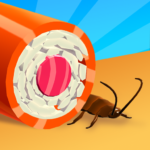 Sushi Roll 3D Cooking ASMR Game  APK MOD 1.5.1