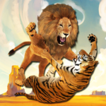 Ultimate Lion Vs Tiger: Wild Jungle Adventure APK MOD 2.1