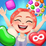 Candy Go Round – #1 Free Candy Puzzle Match 3 Game APK MOD 1.6.0