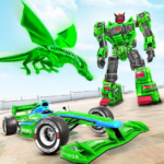 Dragon Robot Car Game – Robot transforming games   APK MOD 1.3.9