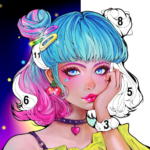 Sweet Coloring Color by Number Painting Game   APK MOD 1.0.19