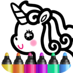 Kids Drawing Games for Girls 🎀 Apps for Toddlers! APK MOD