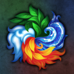 Masters of Elements-CCG game + online arena & RPG APK MOD 6.6.8