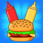 Merge Burger Food Evolution Cooking Merger   APK MOD 2.3.0