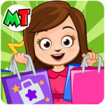 My Town: Shopping Mall – Shop & Dress Up Girl Game   APK MOD 1.12