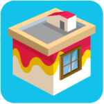 Paint wall | Exciting House Painting Puzzle Game APK MOD 8.53