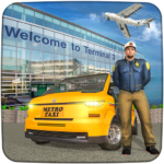 Real Taxi Airport City Driving-New car games 2020 APK MOD 1.8