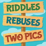 Riddles, Rebus Puzzles and Two Pics APK MOD 1.7.1