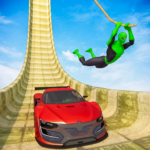 Superhero Mega Ramps: GT Racing Car Stunts Game   APK MOD 1.14