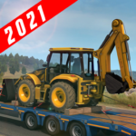 Crane and Tractor Simulation Game APK MOD 1.6