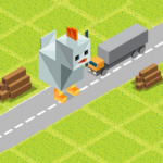 Cross Road: Cute Animals – Chicken Game APK MOD 3.4