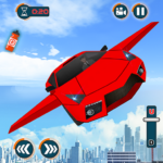 Flying Car Shooting Games – Drive Modern Cars Game APK MOD 1.7