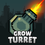 Grow Turret – Idle Clicker Defense   APK MOD 7.5.5