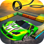 Impossible Stunt Car Tracks 3D   APK MOD 1.8