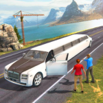 Limousine Taxi Driving Game APK MOD 1.12