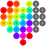Mosaic Color by Number – Hex Puzzle Beads For Kids APK MOD 1.7