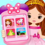 Pink Little Talking Princess Baby Phone Kids Game APK MOD 9.0.1