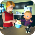 Real Mother Baby Games 3D: Virtual Family Sim 2019 APK MOD 1.0.7