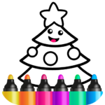 Toddler Drawing Academy🎓 Coloring Games for Kids APK MOD