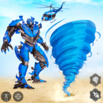 Tornado Robot games-Hurricane Robot Transform Wars   APK MOD 1.2.7