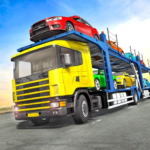 Truck Car Transport Trailer Games APK MOD 1.10
