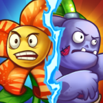 Zombie Defense – Plants War – Merge idle games APK MOD 0.0.9
