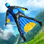 Base Jump Wing Suit Flying APK MOD 0.9