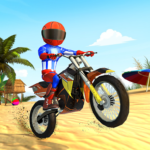 Beach Bike Stunts: Crazy Stunts and Racing Game   APK MOD 5.2