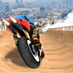 Impossible Mega Ramp Moto Bike Rider Stunts Racing  APK MOD 1.38