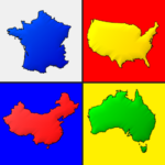 Maps of All Countries in the World: Geography Quiz APK MOD 3.1.0