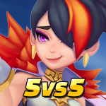 Masters Battle League 5v5 : Legend MOBA PvPTrainer   APK MOD 1.8