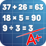 Math problems: mental arithmetic game APK MOD 3.42