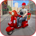 Moto Bike Pizza Delivery Games 2021: Food Cooking APK MOD 1.12
