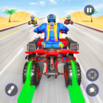 Quad Bike Traffic Shooting Games 2020: Bike Games APK MOD 3.1