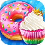 Rainbow Princess Bakery – Make Cupcake & Donut APK MOD 1.4