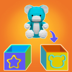 Toy sort 3D: How to be a dutiful kid? APK MOD 1.0.0012