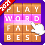 Word Fall – Brain training search word puzzle game APK MOD 3.1.3
