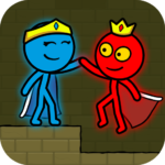 Red and Blue Stickman : Animation Parkour  APK MOD 1.2.2