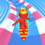 Aqua Path Slide Water Park Race 3D Game APK MOD