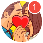 Kiss Me Spin the Bottle for Dating, Chat & Meet  APK MOD 1.0.47
