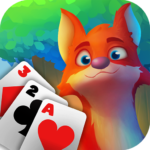 Rescue Forest Solitaire Adventure TriPeaks Card APK MOD