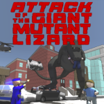 Attack of the Giant Mutant Lizard APK MOD