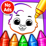 Drawing Games: Draw & Color For Kids APK MOD