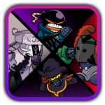 FNF Hot Mod Character battle simulator/Reference APK MOD